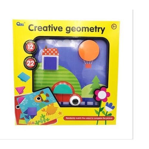 Bộ đồ chơi nút cài sáng tạo, ghép hình sáng tạo Creative geometry - 4430424 , 11936042 , 15_11936042 , 179000 , Bo-do-choi-nut-cai-sang-tao-ghep-hinh-sang-tao-Creative-geometry-15_11936042 , sendo.vn , Bộ đồ chơi nút cài sáng tạo, ghép hình sáng tạo Creative geometry