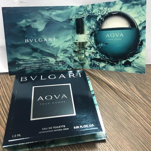 [Mẫu dùng thử ] Nước hoa Vial BVLgari Aqva Pour Homme 1,5ml
