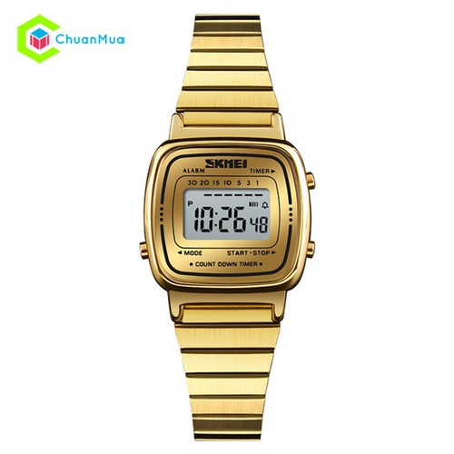 Đồng Hồ Nữ Điện Tử SKMEI 1252 Digital Ladies - DHA560 - Vàng
