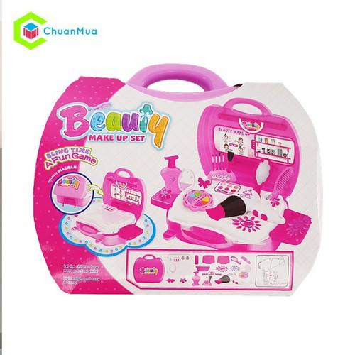 Đồ chơi trang điểm ChuanToy DCA011 Vali hộp cho bé gái - 5529770 , 11932217 , 15_11932217 , 266000 , Do-choi-trang-diem-ChuanToy-DCA011-Vali-hop-cho-be-gai-15_11932217 , sendo.vn , Đồ chơi trang điểm ChuanToy DCA011 Vali hộp cho bé gái