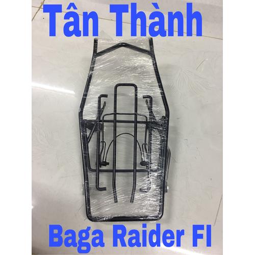 Baga giữa Raider FI inox sơn tĩnh điện
