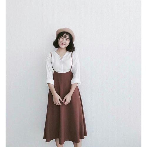 Đầm maxi nữ xinh xắn