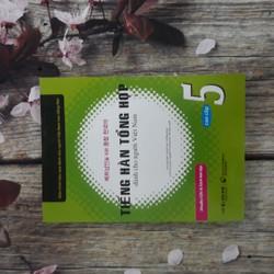 Tiếng Hàn tổng hợp dành cho người Việt Nam Cao cấp 5 Bài học + Kèm CD