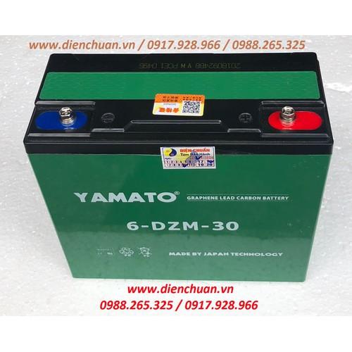 Ắc quy xe đạp điện 12V 30Ah Yamato 6-DZF-30 - 5550105 , 11958657 , 15_11958657 , 660000 , Ac-quy-xe-dap-dien-12V-30Ah-Yamato-6-DZF-30-15_11958657 , sendo.vn , Ắc quy xe đạp điện 12V 30Ah Yamato 6-DZF-30