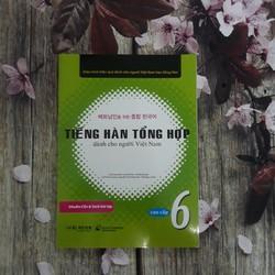 Tiếng Hàn tổng hợp dành cho người Việt Nam Cao cấp 6 Bài học + Kèm CD