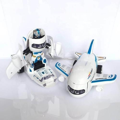 Máy Bay Biến Hình Thành Robot Phát Nhạc Vui Nhộn Cho Bé - 5547717 , 11955770 , 15_11955770 , 200000 , May-Bay-Bien-Hinh-Thanh-Robot-Phat-Nhac-Vui-Nhon-Cho-Be-15_11955770 , sendo.vn , Máy Bay Biến Hình Thành Robot Phát Nhạc Vui Nhộn Cho Bé