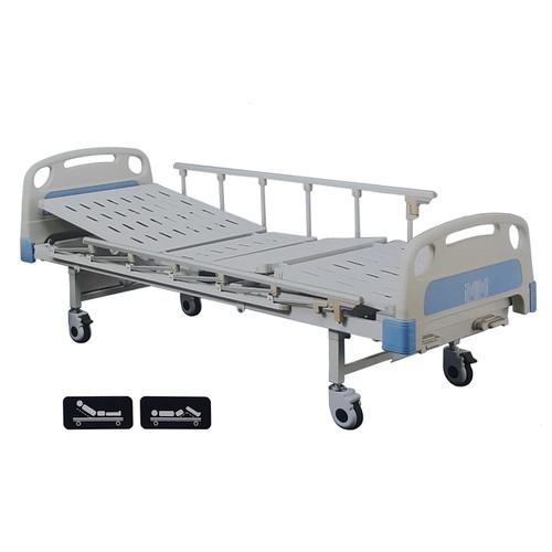 Giường y tế 2 tay quay lucass gb22