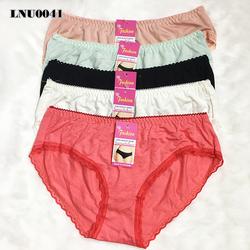 10 quần lót thun nữ dành cho người trên 60kg - LN0041 - SXTVN