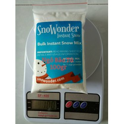 100gr snowonder tuyết mỹ nguyên liệu làm slime