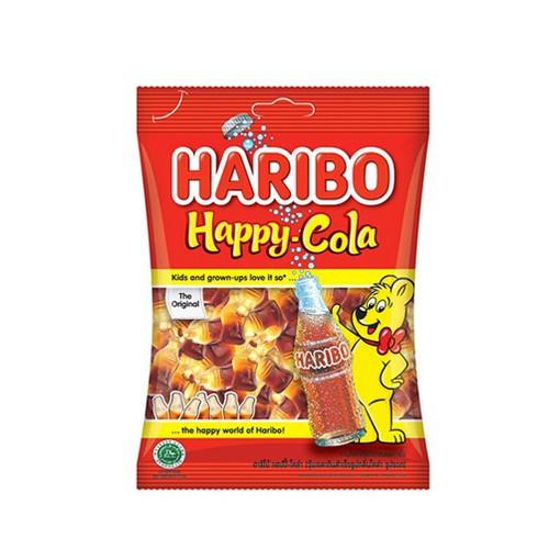 Kẹo dẻo Haribo Happy cola – gói 80g