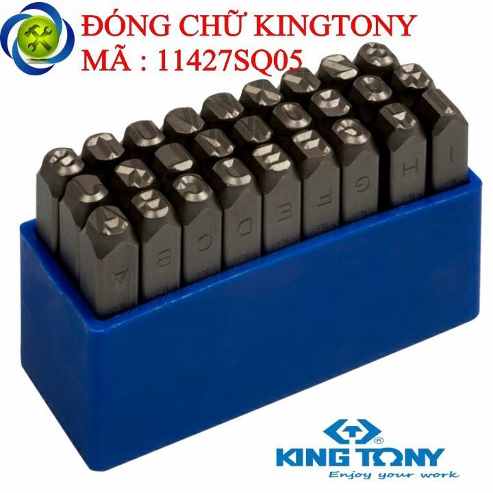 Đóng chữ Kingtony 11427SQ05 5mm 1