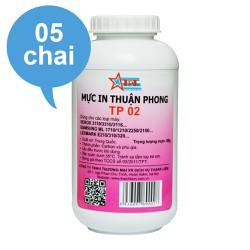 BỘ 5 CHAI Mực đổ Thuận Phong TP02 dùng cho máy in Samsung ML-1610- 1620- 2010- 2020- 2160- 2165- 1660- 1666- 1670- 1860- SCX-4321- 4621- 3400- 3200- Xpress M2020- M2070- M2625- M2675- M2885
