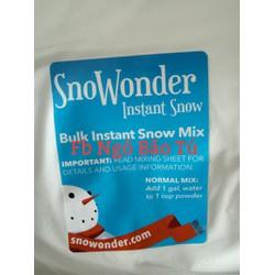 50gr snowonder tuyết mỹ nguyên liệu làm slime