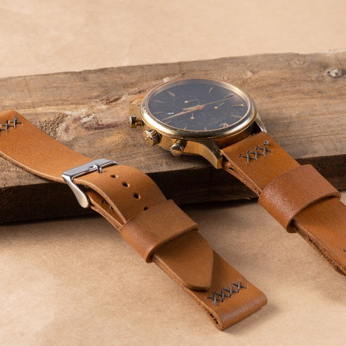 Dây da đồng hồ handmade da bò thật 1 lớp - 5545969 , 11953702 , 15_11953702 , 149000 , Day-da-dong-ho-handmade-da-bo-that-1-lop-15_11953702 , sendo.vn , Dây da đồng hồ handmade da bò thật 1 lớp