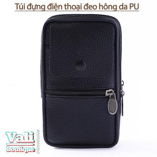 Túi đeo ngang hông đựng điện thoại da PU dành cho nam dạng dọc - đen - 5543073 , 11949099 , 15_11949099 , 120000 , Tui-deo-ngang-hong-dung-dien-thoai-da-PU-danh-cho-nam-dang-doc-den-15_11949099 , sendo.vn , Túi đeo ngang hông đựng điện thoại da PU dành cho nam dạng dọc - đen