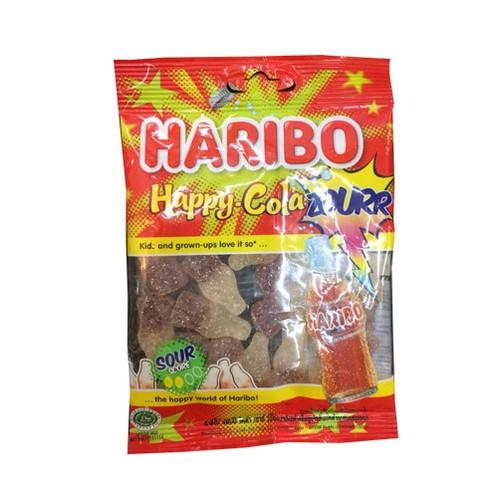 Kẹo dẻo Haribo Happy cola ZOURR – gói 80g - 4496223 , 11944622 , 15_11944622 , 75000 , Keo-deo-Haribo-Happy-cola-ZOURR-goi-80g-15_11944622 , sendo.vn , Kẹo dẻo Haribo Happy cola ZOURR – gói 80g