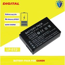 Pin Canon LP-E12 Cho Canon EOS-M, M2, M10, M50, M100 Mirrorless