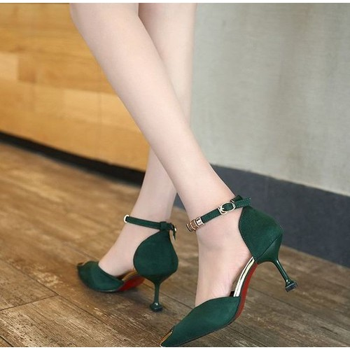 Giày cao gót bít mũi cao cấp- CG181 - 4601837 , 13714017 , 15_13714017 , 216000 , Giay-cao-got-bit-mui-cao-cap-CG181-15_13714017 , sendo.vn , Giày cao gót bít mũi cao cấp- CG181