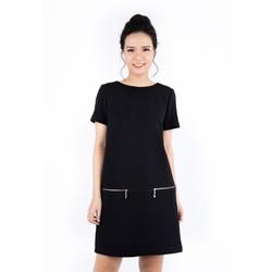 De Leah - Thời Trang thiết kế - Đầm Suông Khoá Hông