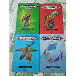 Animorphs Người hoá thú - tập 1-2-3-4