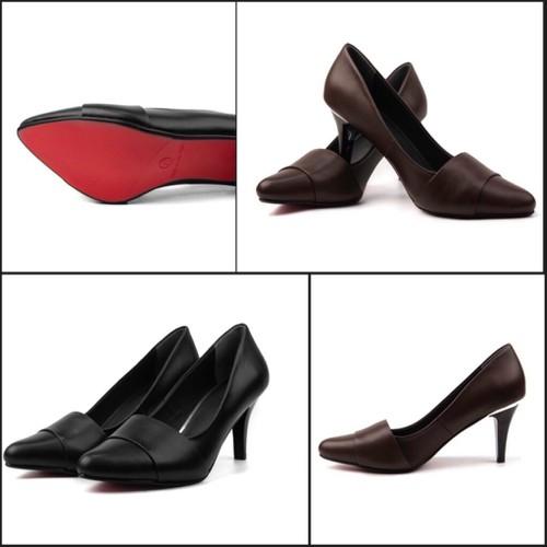 Giày cao gót  7cm da bò Lutra - 5559536 , 11972016 , 15_11972016 , 495000 , Giay-cao-got-7cm-da-bo-Lutra-15_11972016 , sendo.vn , Giày cao gót  7cm da bò Lutra