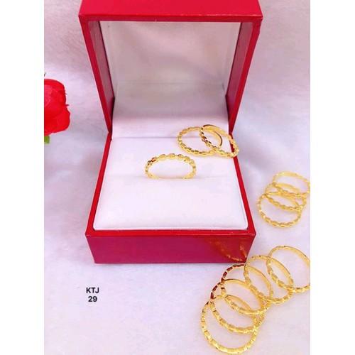 nhẫn vàng tây 10 kara - 5553842 , 11964693 , 15_11964693 , 850000 , nhan-vang-tay-10-kara-15_11964693 , sendo.vn , nhẫn vàng tây 10 kara