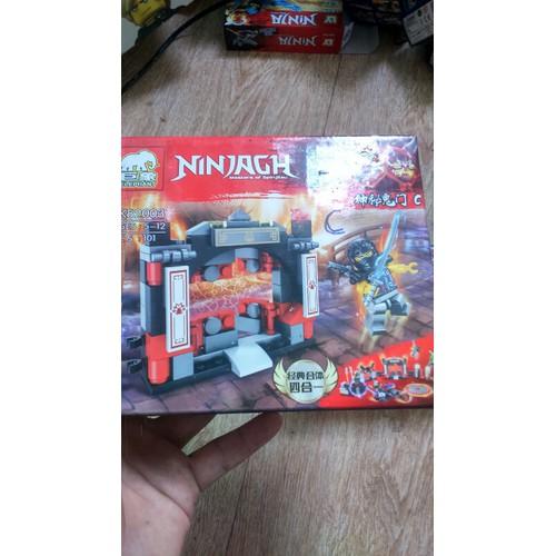 Lắp ráp Nonlego NinjaGh 82003 mẫu C