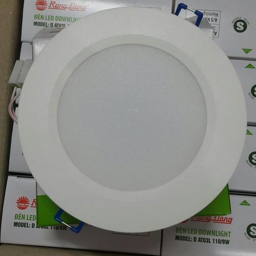 Đèn LED âm trần  Rạng Đông vỏ nhựa 90-7W