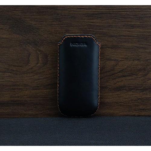 Bao Da Túi Rút Opba Nokia 8800 Da Bò Màu Đen