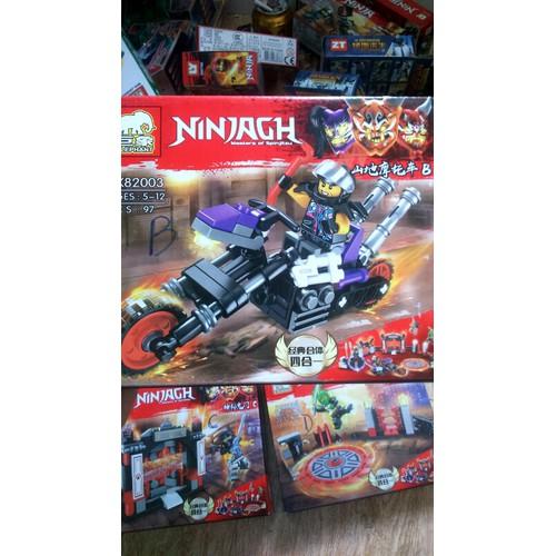 Lắp ráp Nonlego NinjaGh 82003 mẫu B