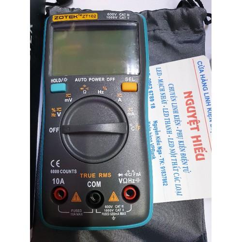Đồng hồ đo vạn năng Zotek ZT102 thêm chức năng đô nhiệt độ và độ ẩm - 4497634 , 11980626 , 15_11980626 , 535000 , Dong-ho-do-van-nang-Zotek-ZT102-them-chuc-nang-do-nhiet-do-va-do-am-15_11980626 , sendo.vn , Đồng hồ đo vạn năng Zotek ZT102 thêm chức năng đô nhiệt độ và độ ẩm