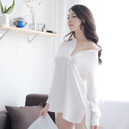 Đầm ngủ sơ mi gợi cảm cao cấp   Thời trang váy ngủ quyến rũ - 10852779 , 11505645 , 15_11505645 , 230000 , Dam-ngu-so-mi-goi-cam-cao-cap-Thoi-trang-vay-ngu-quyen-ru-15_11505645 , sendo.vn , Đầm ngủ sơ mi gợi cảm cao cấp   Thời trang váy ngủ quyến rũ