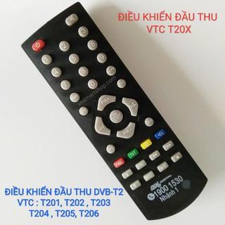 ĐIỀU KHIỂN ĐẦU THU VTC DVB-T2 CÁC MODEL VTC-T201và VTC-T206 - rmt-vtc201-206 thumbnail
