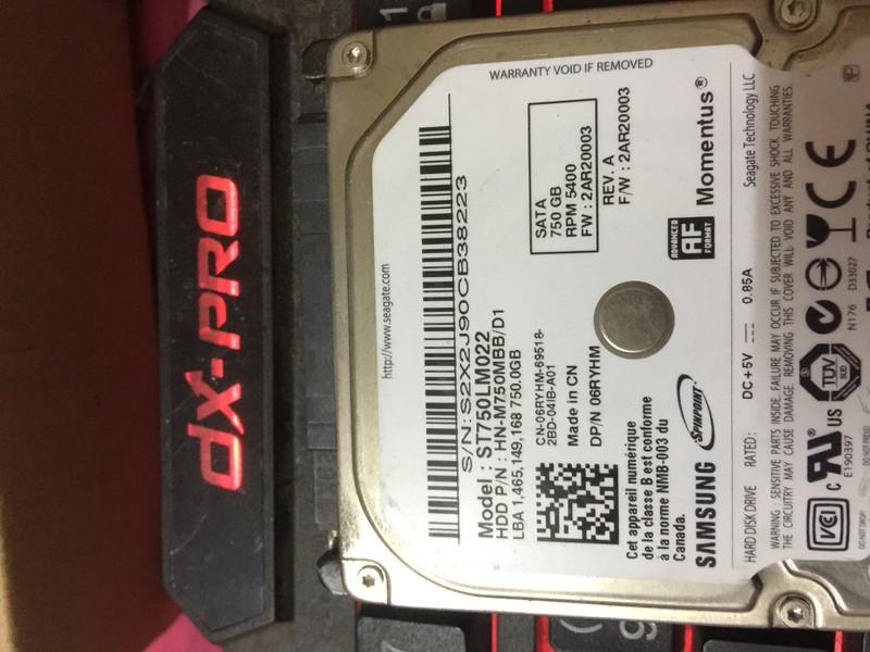 Ổ Cứng Laptop HDD Samsung 750G Cũ 5400RPM BH 6 Tháng Ko Badsector 6