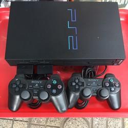 Máy chơi game PS2 Playstations 2 Tặng kèm 2 tay 5 game
