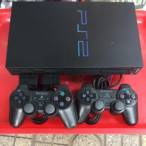Máy chơi game PS2 Playstations 2 Tặng kèm 2 tay 3 Đĩa game