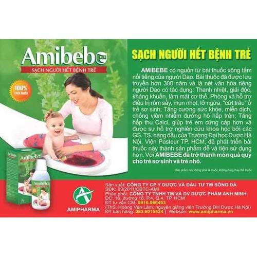 Sữa Tắm Rôm Sẩy Amibebe - 10873562 , 11984752 , 15_11984752 , 155000 , Sua-Tam-Rom-Say-Amibebe-15_11984752 , sendo.vn , Sữa Tắm Rôm Sẩy Amibebe