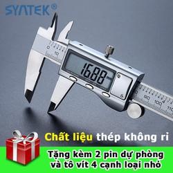 Thước kẹp điện tử thép không rỉ 150mm