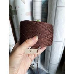 500g len cotton nhật chập 6 sợi màu số 71