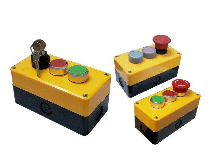 Hộp điều khiển 3 nút 2