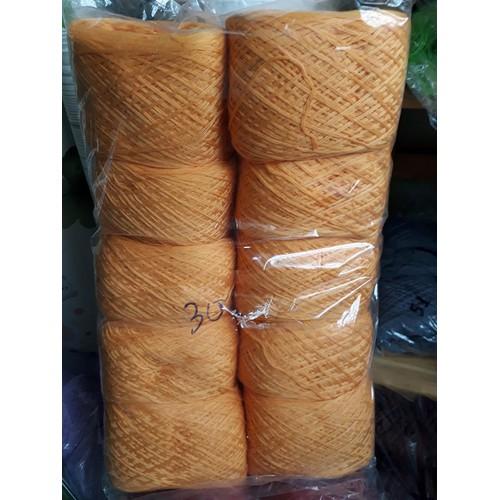 500g len cotton nhật chập 6 sợi màu số 30