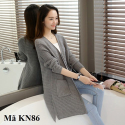 Áo khoác len cardigan nữ FFSKN86