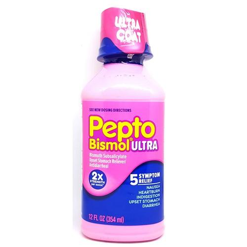 Siro giảm đau bao tử và tiêu chảy Pepto Bismol Ultra chai 354ml từ Mỹ