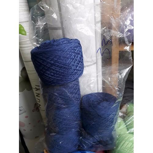 500g len cotton nhật chập 6 sợi màu số 33
