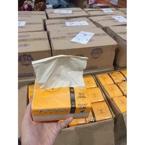 Giấy ăn vàng 1 thùng 27 gói cực dai mềm mại sạch sẽ an toàn - 5576075 , 11992196 , 15_11992196 , 204000 , Giay-an-vang-1-thung-27-goi-cuc-dai-mem-mai-sach-se-an-toan-15_11992196 , sendo.vn , Giấy ăn vàng 1 thùng 27 gói cực dai mềm mại sạch sẽ an toàn