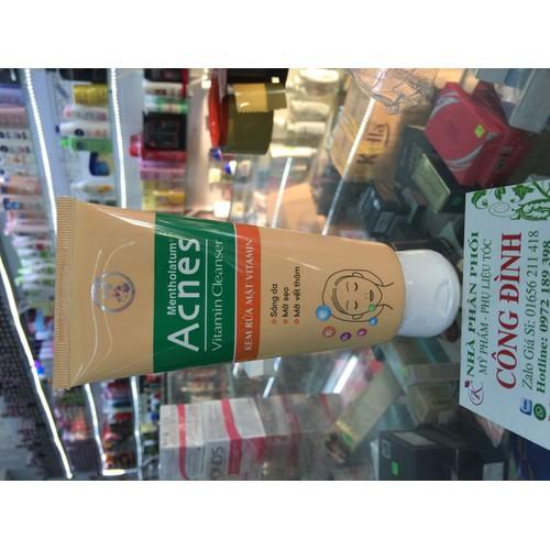 Sữa rửa mặt Acnes. Vitamin 50g