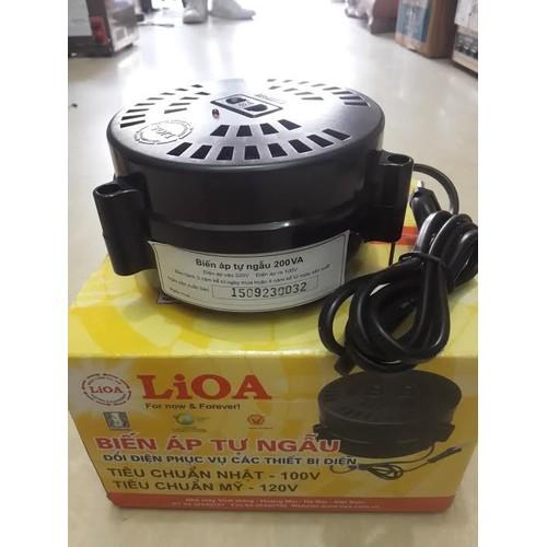 Biến áp đổi nguồn hạ áp 1 pha LiOA DN015