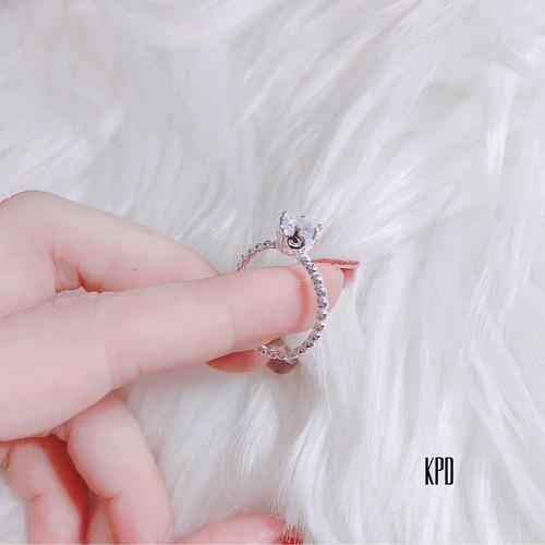 Nhẫn nữ đẹp rẻ bạc ta