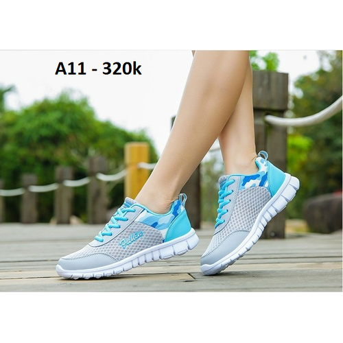 Giày thể thao nữ siêu nhẹ A11 [FREESHIP]