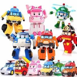 Biệt đội Robocar Poli biến hình- bộ 6 con